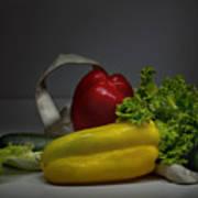 Still-life With Vegetables  Art Print