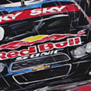 Stock Car Brasil Caca Bueno Art Print