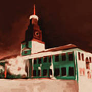 Stock Yards National Bank 537 3 Art Print