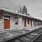 Stockbridge Train Station Art Print