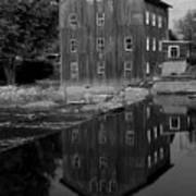 Stockdale Mill Art Print