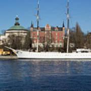 Stockholm Ship Art Print