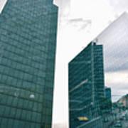 Stockholm Skyscrapers Art Print