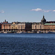 Stockholm Waterscape Art Print