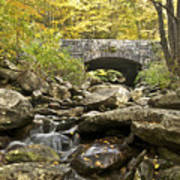 Stone Bridge 6063 Art Print
