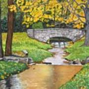 Stone Bridge Art Print