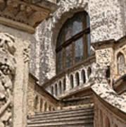 Stone Buildings In Majestic Monaco Art Print