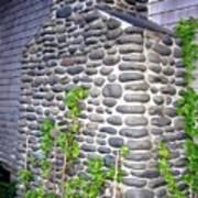 Stone Chimney Art Print
