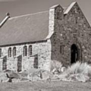 Stone Church Art Print