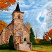 Stone Church Art Print
