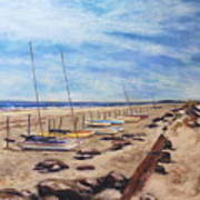 Stone Harbor Art Print by Joyce A Guariglia