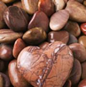 Stone Heart Art Print by Garry Gay