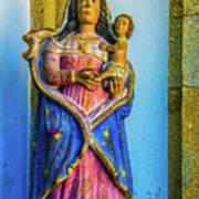 Stone Madonna Art Print