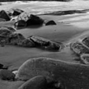 Stone Shore Art Print