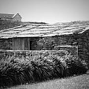 Stone Structure Doolin Ireland Art Print