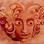 Stone Woman Art Print
