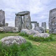 Stonehenge In England Art Print