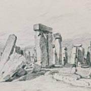 Stonehenge Wiltshire Art Print