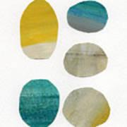 Stones- Abstract Art Art Print