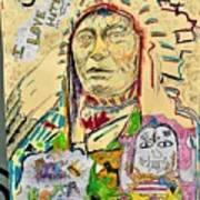 Stoney Chief  Art Print