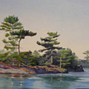 Stoney Lake Morning Art Print