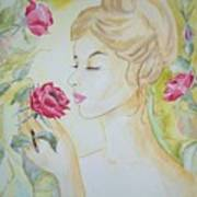 Stop And Smell The Roses Art Print