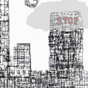 Stop II  Art Print