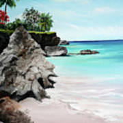 Store Bay Tobago Art Print