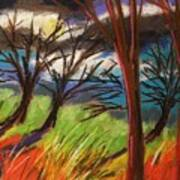 Storm Approaching Fast Art Print