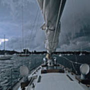 Storm At Put-in-bay Art Print