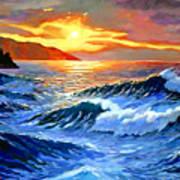 Storm Clouds - Catalina Island Art Print