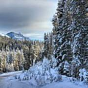 Storm Clouds Over Bow Valley Parkway Art Print