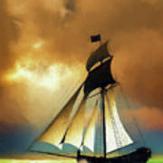 Storm Comes Art Print
