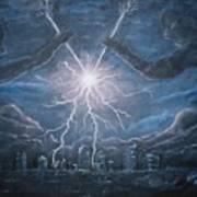 Storm Games Art Print