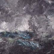 Storm In The Skerries. The Flying Dutchman Art Print