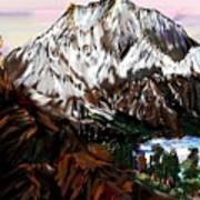 Storm King Mountain Art Print