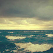 Storm On The Bay Art Print