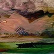 Storm On The Mountain Art Print