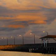Storm Over Ballast Point Art Print