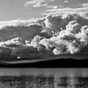 Storm Over Lake Placid Art Print