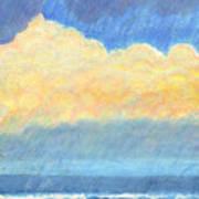 Storm Over Virginia Beach Art Print