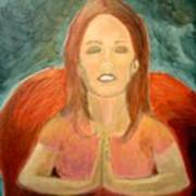 Storm Prayer Art Print