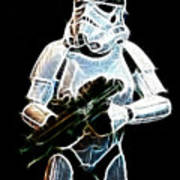 Storm Trooper Art Print
