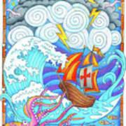 Storms Of Life Art Print