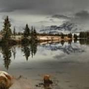 Storms Over Talbot Lake Art Print