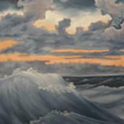 Storms Art Print