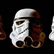 Stormtrooper 1-3 Art Print
