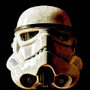 Stormtrooper 1 Weathered Art Print