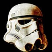Stormtrooper 2 Weathered Art Print