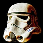 Stormtrooper 3 Weathered Art Print